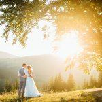 trouwkleding bruiloft golden hour topcleaning reiniging